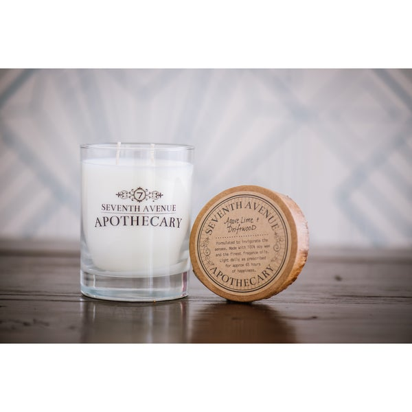 Hand-poured Agave Lime and Driftwood Artisan Soy Candle