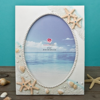 Beach Theme Hand-painted 8 x 10-inch Frame