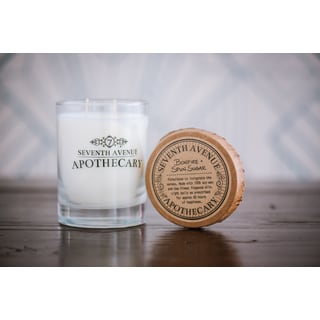 Hand-poured Bonfire and Spun Sugar Artisan Soy Candle