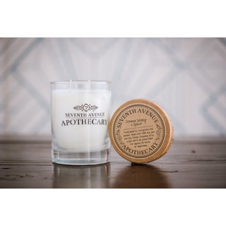 Hand-poured Cinnamon Whiskey and Spruce Artisan Soy Candle