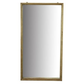 Natural Reclaimed Wood 47-inch x 25.5-inch x 4-inch Wall Mirror