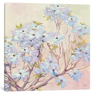 iCanvas Spring Dogwood II by Julia Purinton Canvas Print
