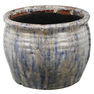 Multicolor Ceramic 8-inch x 8-inch x 6-inch Planter