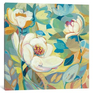 iCanvas White Garden I by Dusty Knight Canvas Print