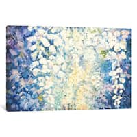 iCanvas Blue Wisteria by Dusty Knight Canvas Print
