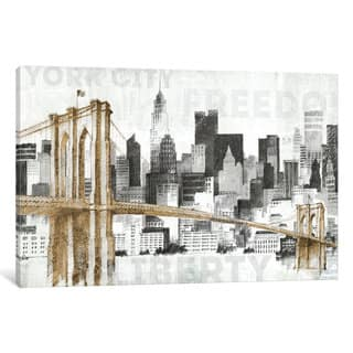 iCanvas New York Skyline I by Avery Tillmon Canvas Print|https://ak1.ostkcdn.com/images/products/11892476/P18787692.jpg?impolicy=medium