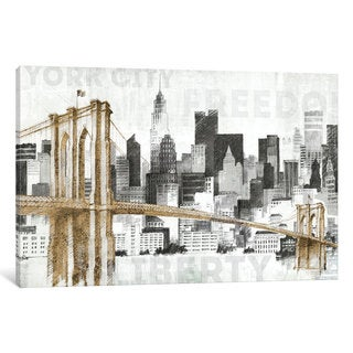 iCanvas New York Skyline I by Avery Tillmon Canvas Print