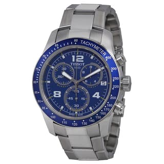 Tissot Men's T0394171104702 V8 Blue Dial Stainless Steel Chronograph Watch|https://ak1.ostkcdn.com/images/products/11892483/P18787813.jpg?impolicy=medium