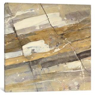 iCanvas Gold Streak by Albena Hristova Canvas Print