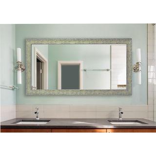American Made Rayne Extra Large Maclaren Pewter Mirror