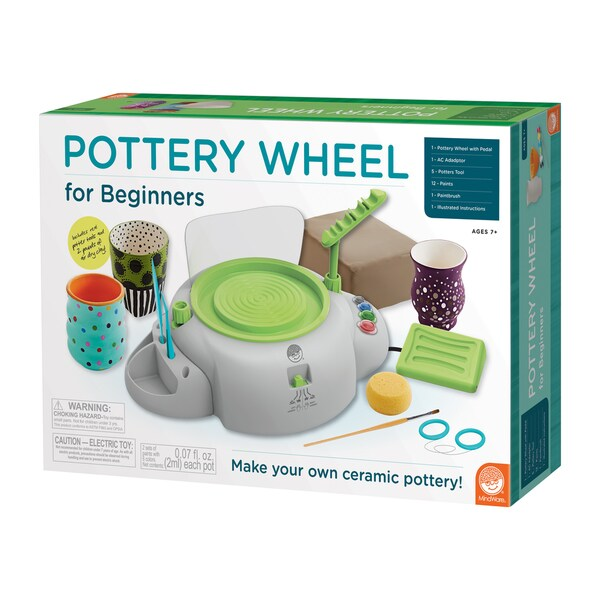 MindWare Beginners Pottery Wheel Free Shipping Today