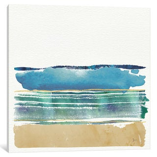 iCanvas By the Sea III by Jess Aiken Canvas Print