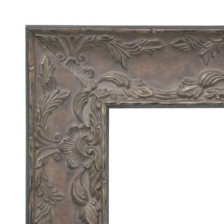 American Made Rayne Maclaren Brown Vanity Wall Mirror