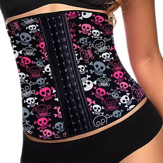 Women's Patterned Latex Waist Trainer
