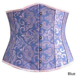 f35f26a0e09cb Spandex Polyester Steel-boned Lace-up Waist Trainer