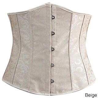 Spandex/Polyester Steel-boned Lace-up Waist Trainer (More options available)