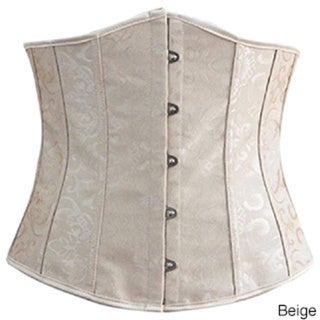 Spandex/Polyester Steel-boned Lace-up Waist Trainer