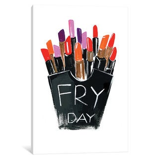 iCanvas Fry-day by Rongrong DeVoe Canvas Print