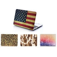 Printed Hard Silicone 2-piece MacBook Air, Pro or Retina Case