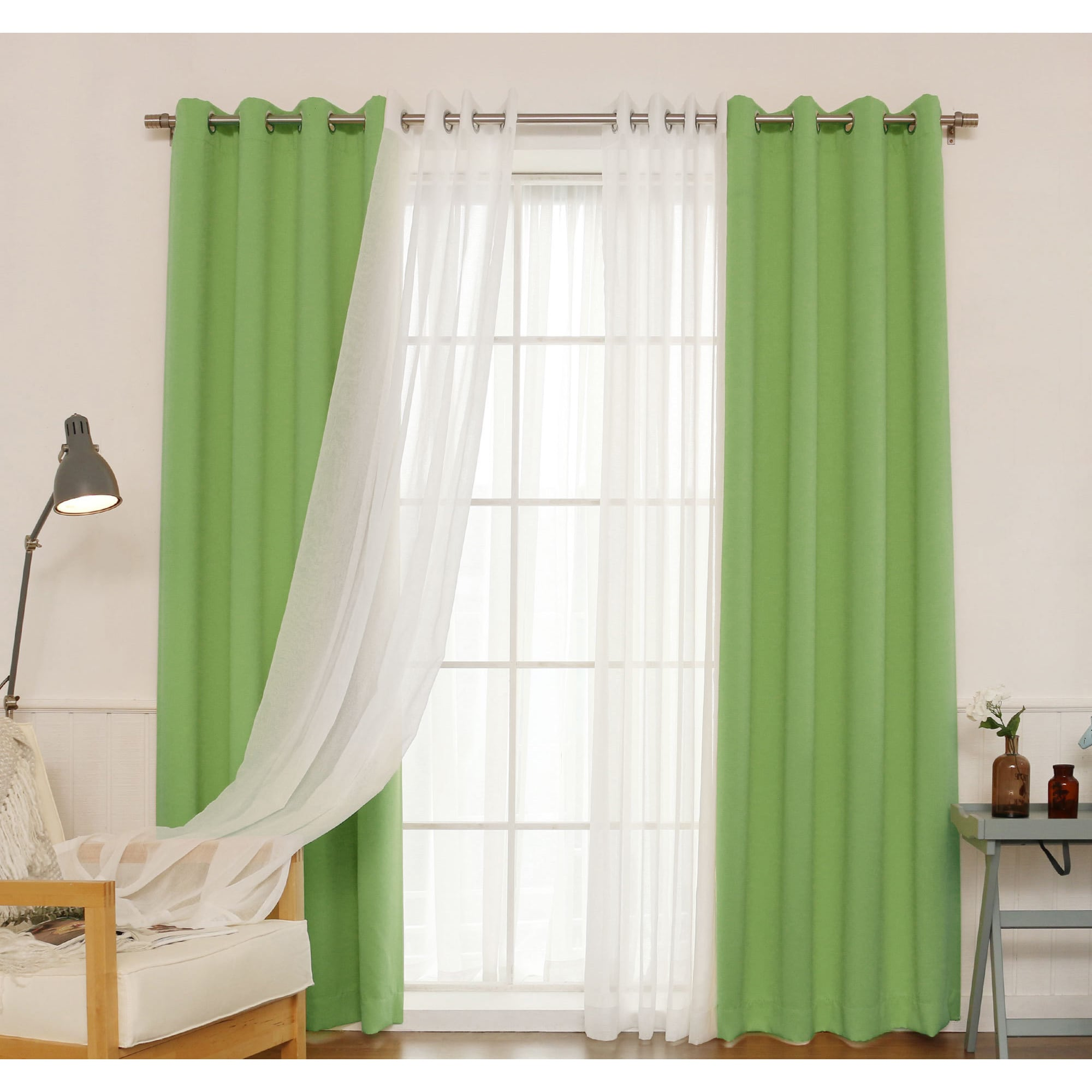 white grommet mint x curtain p tufts sheer panels curtains with window