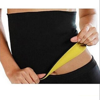 Slimming Black/Yellow Neoprene Waist Shaper