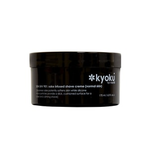 Kyoku Sake-Infused 6-ounce Shave Cream for Normal Skin