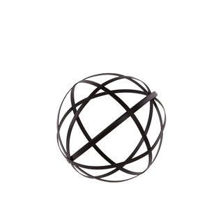 Urban Trends Collection Black Metal Dyson Sphere Decor