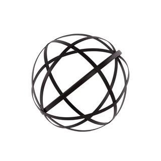 Black Metal Dyson Sphere Decor