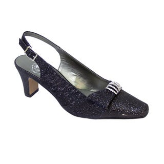 FIC FLORAL Emma Women's Extra Wide Dress Shoe