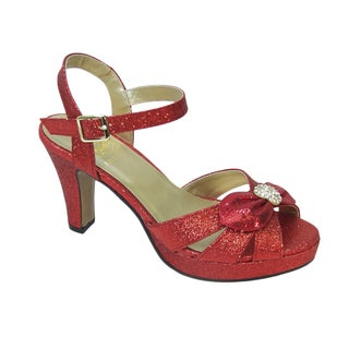 Fic Floral Elva Women's Extra Wide Width Dress Sandal (More options available)