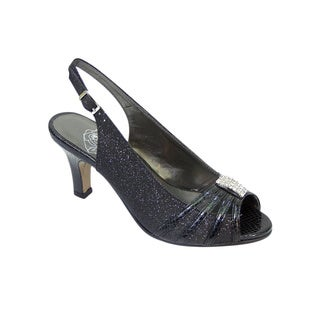 FIC Floral Teri Women's Extra Wide Slingback Pump