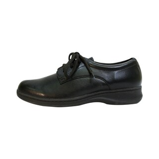 24 HOUR COMFORT Alice Women Extra Wide Width Lace Up Walking Shoes