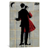 iCanvas True Romance by Loui Jover Canvas Print
