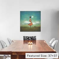 iCanvas High Notes For Low Clouds by Duy Huynh Canvas Print