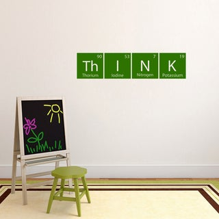Think Periodic Science Table' 36 x 8.5-inch Wall Decal