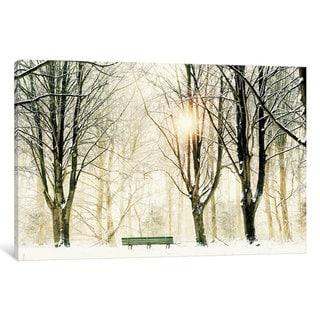 iCanvas Too Cold To Sit by Lars van de Goor Canvas Print