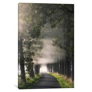 iCanvas Rays Of Fog by Lars van de Goor Canvas Print