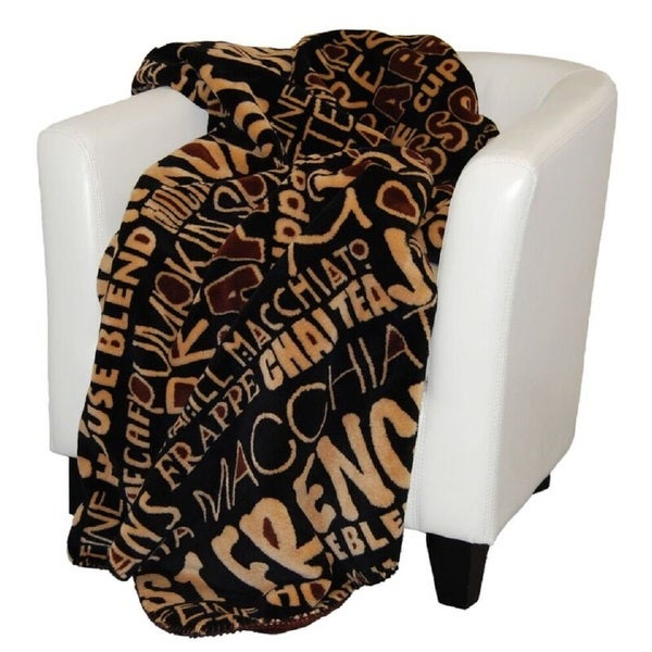 Denali Coffee Break/ Sable Throw Blanket