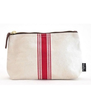 Maika Red Stripe Large Pouch
