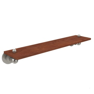Allied Brass Astor Place Collection Clear Finish Solid IPE Ironwood 22-inch Shelf