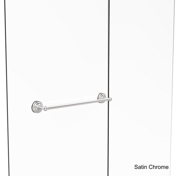 allied brass que new collection 24inch shower door towel bar free shipping today