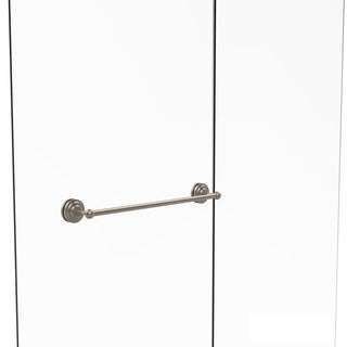 allied brass que new collection 24inch shower door towel bar