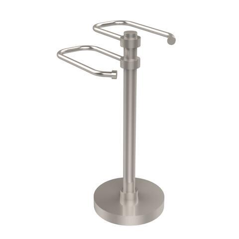"""Allied Brass Freestanding Guest Towel Holder - 8.5""""d x 7.3""""w x 15""""h"""