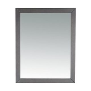Odyssey Collection Grey Wood-framed Mirror