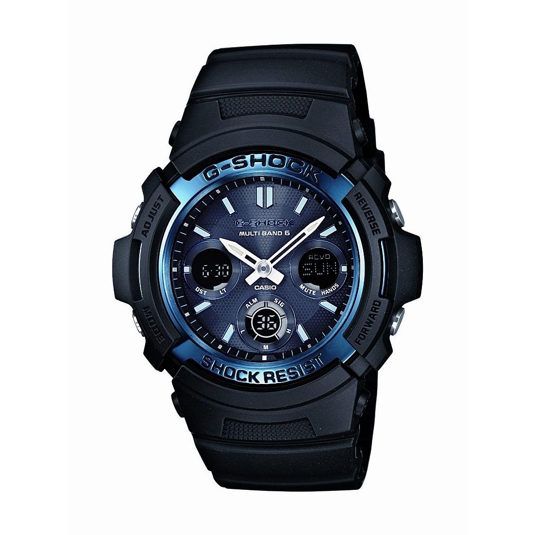 """Casio Men's AWGM100A-1A """"Atomic G Shock"""" Watch (Black), S..."""