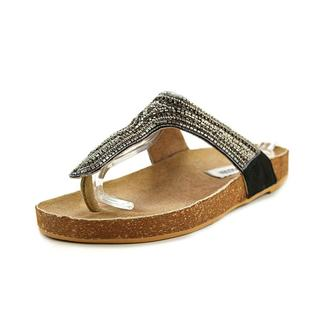 Steve Madden Women's Radlee Brown Textile Basic Sandals