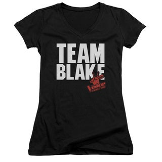 Voice/Blake Team Junior V-Neck in Black