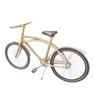 Zew Tan Bamboo 70-inch x 24-inch x 41-inch Single-speed Eco-friendly Urban Bicycle