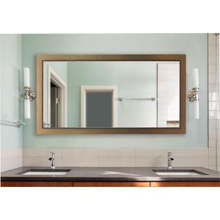 American Made Rayne Extra Large 38.5 x 77.5-inch Golden Lowe Vanity Wall Mirror
