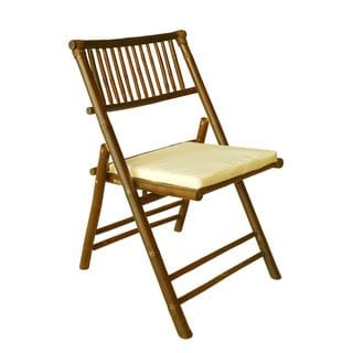 Zew Handcrafted Natural Bamboo Chair